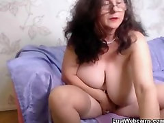 Lustful juri ishiguro 1 plays with her pussy in front of cam