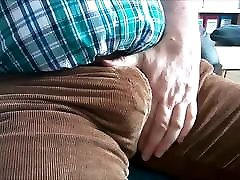 100 The protruding Bulge of a mature Man