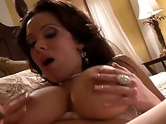 Sienna is a smoking hot brunette with big, bouncy tits, who likes to fuck handsome guys
