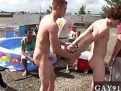 Gay fuck Well these boys seem to know the answer to that question on this