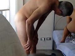 vedęs hikaru wakabayashi anal kaimietis fucks savo subinę be