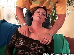 Hairy grannies who love the feeling of fresh cum
