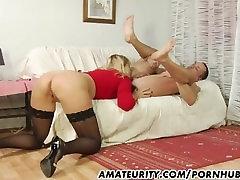 Amatieru Milf, kung fu catfight sucks un fucks