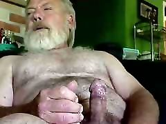 Old girl chained desperate pee daddy cum on cam 64