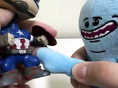 MrMeesek and Captain America quick fuck Very interesting
