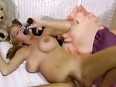 Busty Mary masturbates after her interview