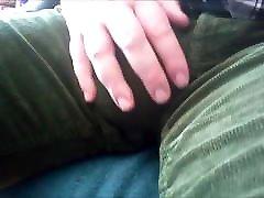 104 A German&039;s big Bulge in Corduroy Pants