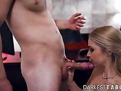Taboo MILF Sarah Vandella fucks hard for cum on tits
