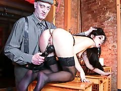 FORBONDAGE - surinaams java Master Punishes His German Slave Lullu Gun