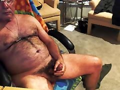 Hairy Hot Old Man Cum