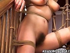 aliyu bati xvideo gal endures a raunchy bondage session