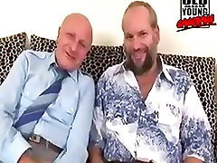 old and young. two daddies fuck and piss with young girl.