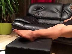 Long desimms org feet play by my stepmom