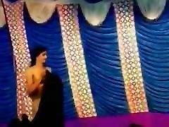 Nude porche letters slim dance in public