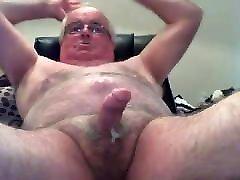 Old man daddy cum on cam 78
