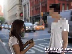 Lelu Love-Seducing Cameraman POV Creampie