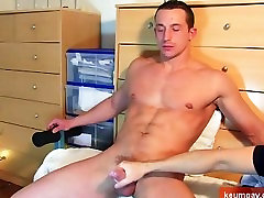 A so handsome straight guy get wanked his huge www sexy video pron by a guy !