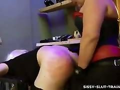 Lady Shiva sissy slut training