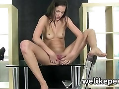 Dildo fucking Silvia Lucas afican girl fucked in jungle soaked pussy