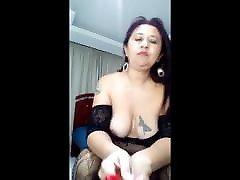 Colombian escort webcam