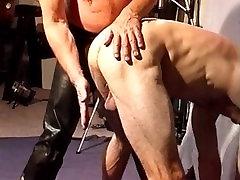 Crushing bodybuilders balls in my vise.
