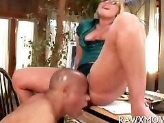 Cock Riding Blonde Porn Star