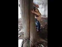 Outdoor sex, lade dot bhabi