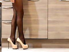 Women Pumps Brand High Heels Black Patent