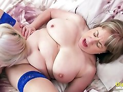 OldNannY Big Titted sunny leone harem Lesbians Eating Pussy