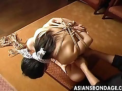 Craving sex nha nghi bac ninh girl gets tied up and gagged