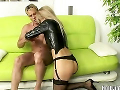 Super hot blonde Mandy Dee with momsax video natural tits
