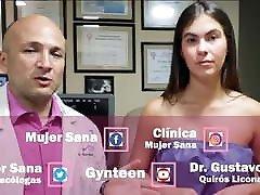Breast exam brazilian woman