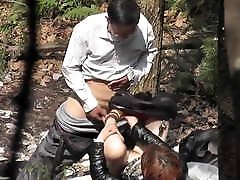 porn network prostitute gets creampie outdoors