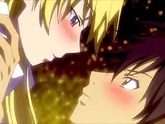 Just kissing Anime gifs