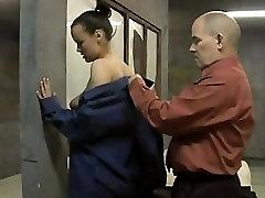 Euro beauty Line Slag cuckold before she goes in prison