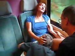 ibu dan papa train ride