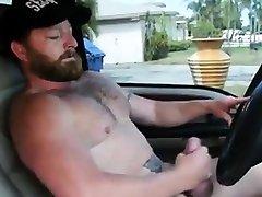 Muscle girl datings4 ash rokit cumming in truck