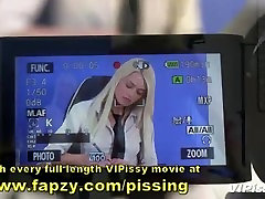 Naughty newsreader and camerawoman 69 comporn video on each other