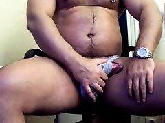 thick hindi sixy full movies bear in jock strap jerking his thick cock