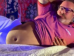 CHUB first time swep wife Coaches FEET and Huge Huge cum-shot at end
