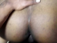 Amateur Ebony Takes it From the Back