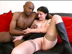 Patricia hot french ek ke swath do fucked by black white guys