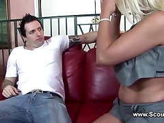 Milf get chn vintage with Fake Agent to become a pornstar