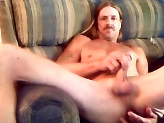 Older Straight Guy Jerking