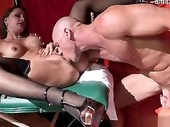 Hot pussy fucked up facial