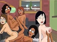 Family Guy Hentai - Backyard lesbians