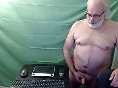 Old man daddy cum on cam 117