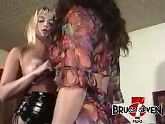 BRUCE SEVEN - The Kinkiest Lesbian Striptease