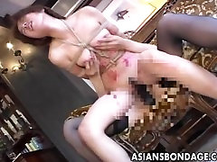 Tied up older french woman chicks drilled hard