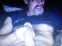 Hot daddy edging his bbw threesome husband help hung thick big dick